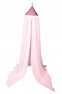 Nebesia nad posteľ - pastelovo ružová