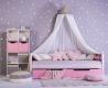 Nebesia nad posteľ - SKANDI béžová
