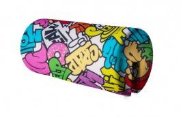 Opierka/chránič na posteľ 18x36cm Komiks - mix farieb
