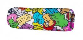Opierka/chránič na posteľ 13x50cm Komiks - mix farieb