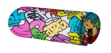 Opierka/chránič na posteľ 18x50cm Komiks - mix farieb