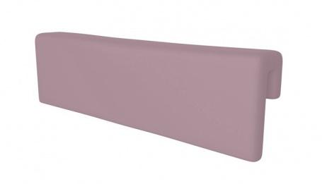 Opierka/chránič na posteľ - pastelovo fialová