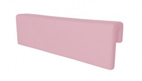 Opierka/chránič na posteľ - ružová