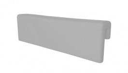 Opierka/chránič na posteľ - SKANDI sivá