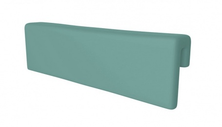 Opierka/chránič na posteľ - zelená