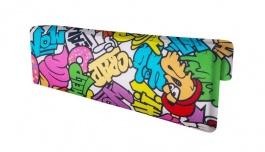 Opierka/chránič na posteľ Komiks - mix farieb