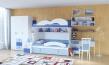 Detská posteľ Aurora I 90x200cm s prístelkou-výber odtieňov