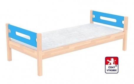 Masívna detská posteľ Benjamin Bubbles 90x200cm - výber morenia a farby čiel