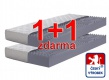 Matrac 1 + 1 zdarma Relax - dve tuhosti - poťah Aloe Vera