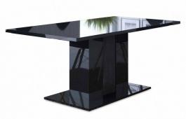 Jedálenský stôl ANITA 2 čierna lesk