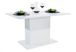 Jedálenský stôl ANITA 1 - biely lesk