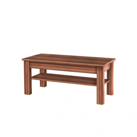 Konfereční stolík CHERIS - slivka/sivý grafit