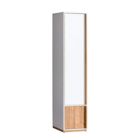 Skriňa KNOX E2 - orech select/biela
