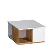 Konferenčný stolík KNOX E13 - orech select/biela