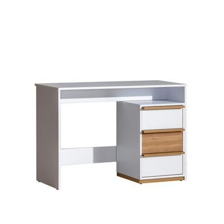 PC stůl KNOX E14 - ořech select/bílá