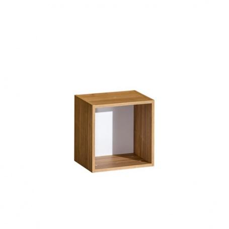 Závesná polica KNOX E15 - orech select/biela