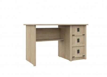 Písací stôl TORRO - dub sonoma