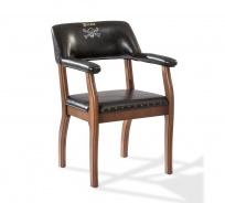 Detská stolička Jack - buk/čierna