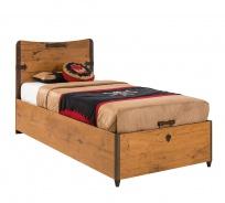 Detská posteľ Jack 90x190cm s úložným priestorom - dub lancelot