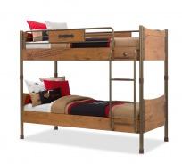 Detská poschodová posteľ Jack 90x200cm - dub lancelot