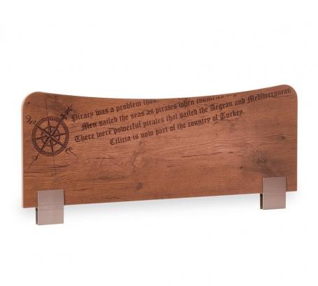 Zábrana na posteľ Jack - dub lancelot