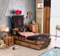 Detská posteľ Jack 90x190cm v tvare lode