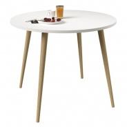 Jedálny stôl Linnea - dub sonoma / biela