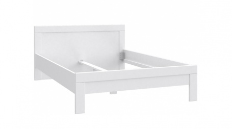 Detská posteľ Snow 140x200 cm - biela