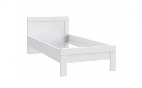 Detská posteľ Snow 90x200cm - biela