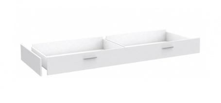 Zásuvka k posteli Snow 90x200cm - biela