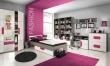 Detská posteľ Lobete 90x200cm - sivá / biela / fialová