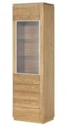 Vitrína 1-dverová ľavá MONTENEGRO 10