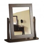 Zrkadlo Baroko - čierna / hnedá