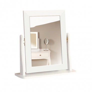 Zrkadlo Baroko - biela