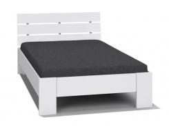 Študentská posteľ REA Nasťa 120x200cm - biela