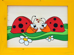 Dětský obrázek berušky