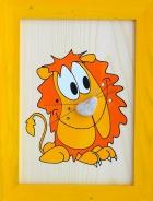 Dětský obrázek lev