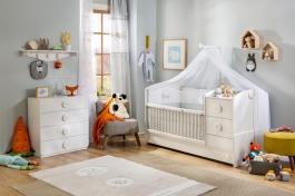 Detská izba Chloe I - biela