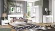Manželská posteľ Irma 180x200cm s úložným priestorom - biela