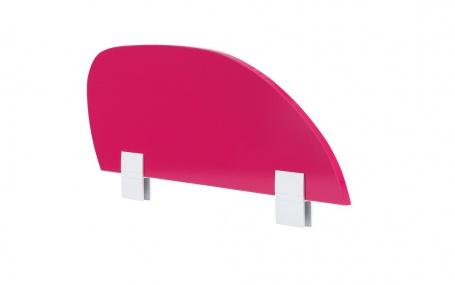Zábrana na posteľ Rosie - rubínová