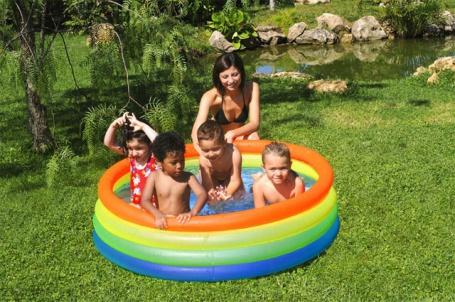 Nafukovací bazén Bestway - barevný