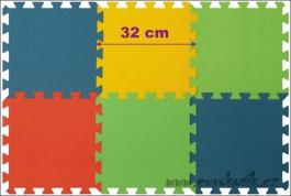Penový koberec 6 maxi pevný