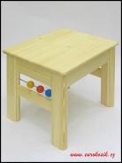 Detský stolček s guličkami 300x330