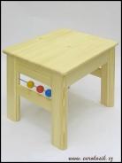 Detský stolček s guličkami 400x330