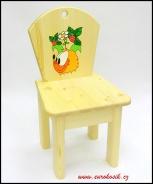 Dětská židlička Ježek