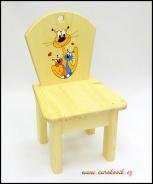 Dětská židlička kočka s koťaty