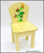 Dětská židlička Tráva