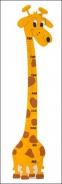 Dětský metr žirafa