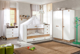 Detská izba Ellie II - biela/dub svetlý