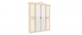 Šatníková skriňa GRANDA 4-dverové - béžová